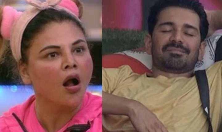 Bigg Boss 14 Rakhi Sawant tries to prove her love