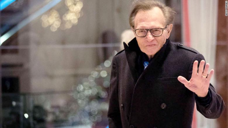 Veteran Anchor Person Larry King Hospitalized In Los Angeles, Allegedly Because Of Coronavirus
