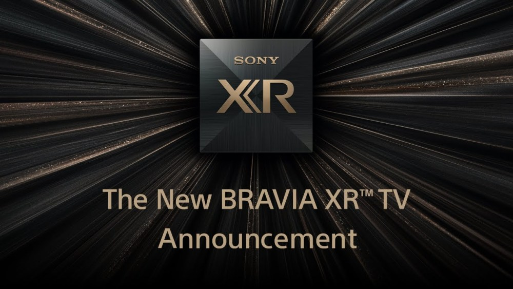 Sony Declares BRAVIA XR LED TVs Fueled By 'Intellectual Knowledge'