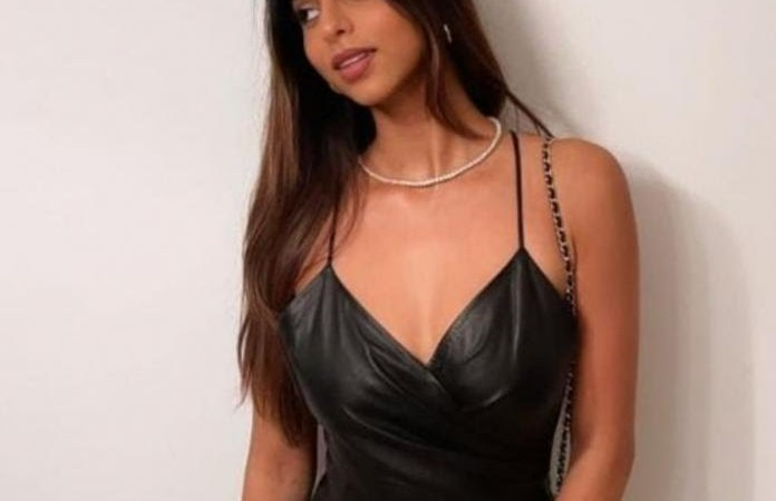 suhana shares a picture of herself