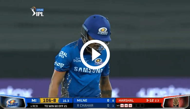 Video of Harshal Patel's Hat-trick for RCB