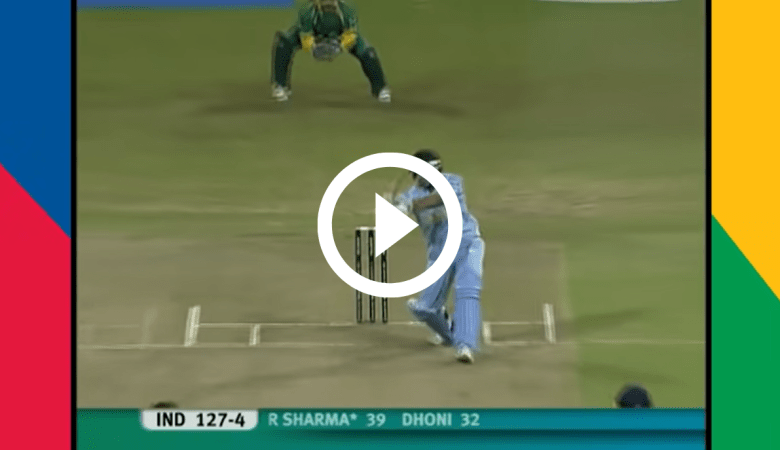 Video of Rohit Sharma first 50 in T20 Cricket : 7 Fours 2 Sixes : T20 WC 2007