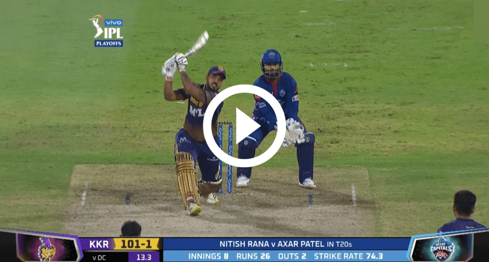 Video of All 12 Sixes Hit in KKR vs DC Match : Qualifier 2