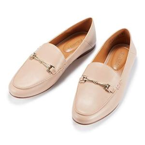 JENN ARDOR Women's Penny Loafers Slip On Flats Comfort Driving