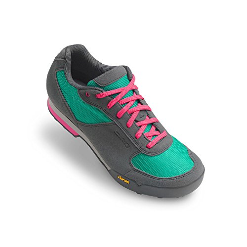 Giro Petra Vr Womens MTB Shoes Turquoise/Bright Pink