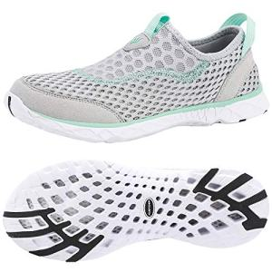 ALEADER Womens Slip On Water Shoes, Comfort Tennis Walking Sneakers