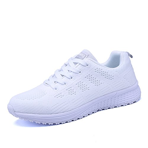 PAMRAY Women's Running Shoes Tennis Athletic Jogging Sport Walking Sneakers
