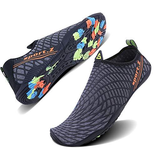 WXDZ Men Women Swim Shoes Quick Dry Barefoot Aqua Water Socks