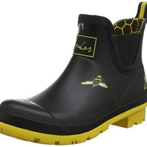 Joules Womens Wellibob Rain Boot Shoes Black