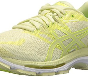 ASICS Women's Gel-Nimbus 20 Running Shoe, limelight/limelight/safety yellow
