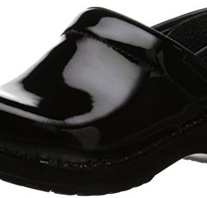 Dansko Women's Professional Patent Leather Clog,Black Patent