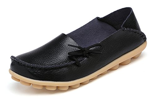 VenusCelia Women's Comfort Walking Office Flat Loafer