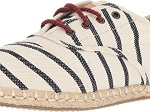 TOMS Women's Cordones Natural Stripe Woven