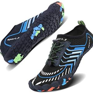 Wonesion Mens Womens Water Sport Shoes Quick Dry Aqua Socks