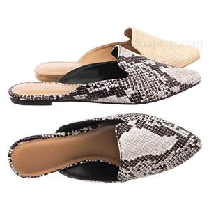 Aquapillar Slip On Mule Slippers - Women Flat Backless