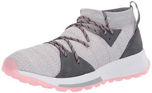 adidas Women's Quesa, Grey/True Pink, 9 M US
