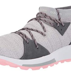 adidas Women's Quesa, Grey/True Pink, 9 M US