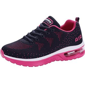 JARLIF Women's Lightweight Athletic Running Shoes Breathable Sport