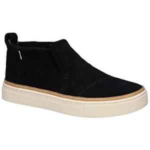 TOMS Women's Paxton Slip On Shoes Black Suede