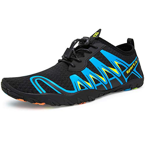 Crova Men Women Water Shoes Quick Dry Lightweight Barefoot Solid Drainage