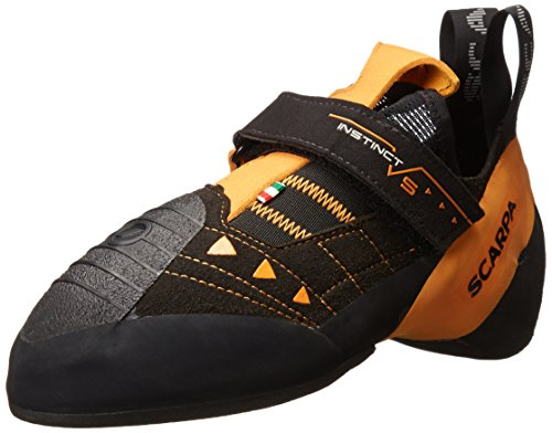 SCARPA Instinct VS Climbing Shoe-U, Black/Orange