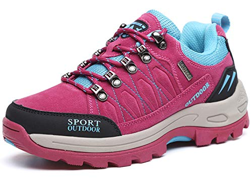 TSIODFO Women Hiking Shoes Autumn Winter Suede Comfort Ladies