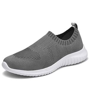 TIOSEBON Women's Walking Shoes Lightweight Mesh Slip-on-