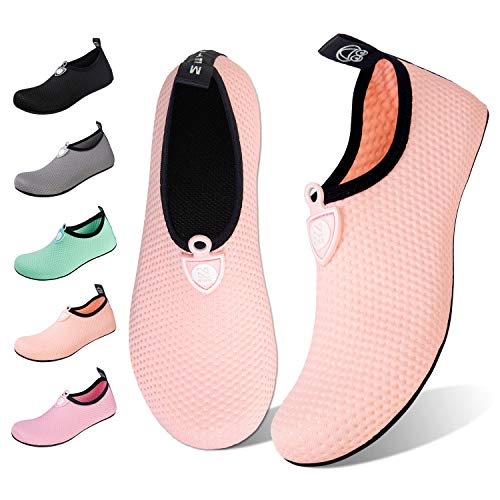 Water Shoes for Womens Mens Barefoot Quick-Dry Aqua Socks