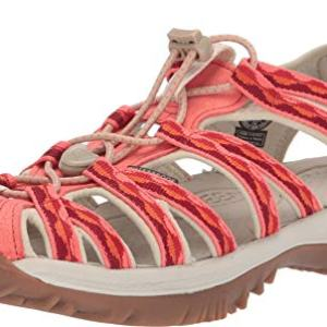 KEEN Women's Whisper Safari/Coral