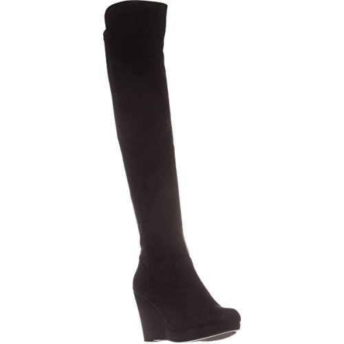 Chinese Laundry Womens Lavish Over-The-Knee Boots Black