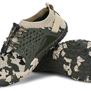 AMOCOCO Men's Women's Minimalist Trail Running Barefoot Shoes