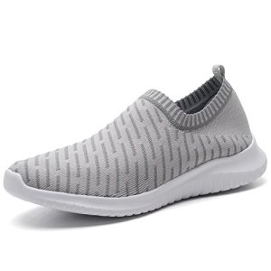 TIOSEBON Women's Walking Shoes Lightweight Mesh Slip-on- Breathable