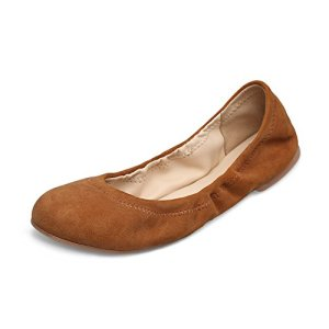 Xielong Women's Emmie Chaste Ballet Flat Lambskin Loafers Casual Ladies Shoes