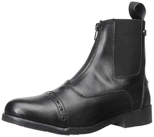 Equistar - Ladies' Zip Paddock Boot (All Weather) 7 Black