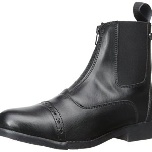 Equistar - Ladies' Zip Paddock Boot (All Weather) 7 Black