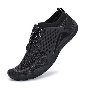 SAJOMCE Mens Womens Trail Running Shoes Minimalist Walking Barefoot Shoes