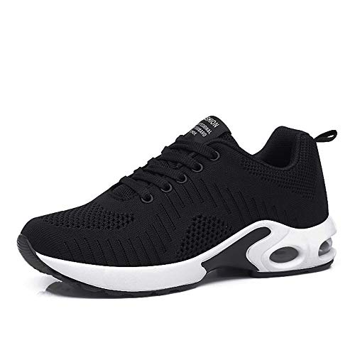 PAMRAY Women's Athletic Running Shoes Tennis Breathable Walking Sneakers
