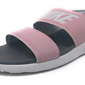 Nike Women's Tanjun Sandals, Plum Chalk/Vast Grey/Gunsmoke