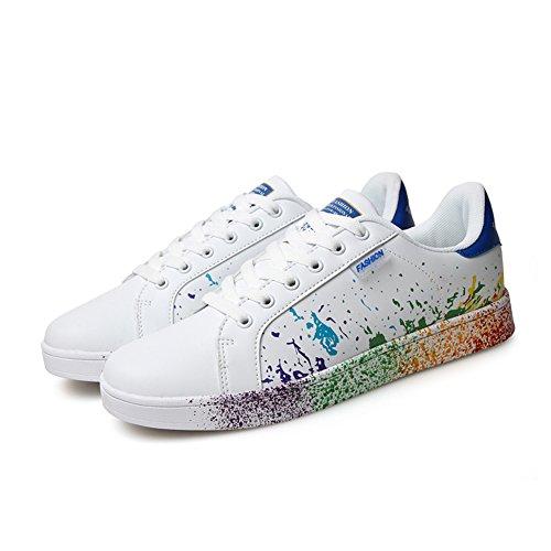 AIRIKE Men Women's Skateboarding Shoe Colorful Fashion Skater Sneakers