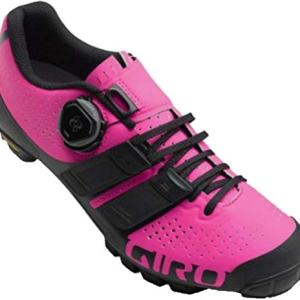 Giro SICA Techlace Cycling Shoe - Women's Black/Bright Pink