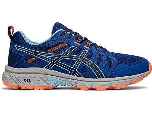 ASICS Women's Gel-Venture 7 Running Shoes, 6M, Blue Expanse/Heritage Blue