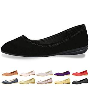 CINAK Flats Shoes Women- Slip-on Ballet Comfort Walking