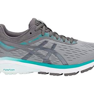 ASICS Women's Running Shoes, 9W, Stone Grey/Carbon