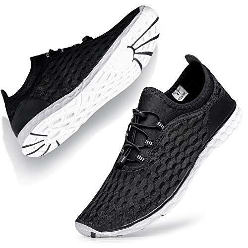 SOBASO Stylish Men's Women's Water Shoes Breathable Quick Drying Aerobics