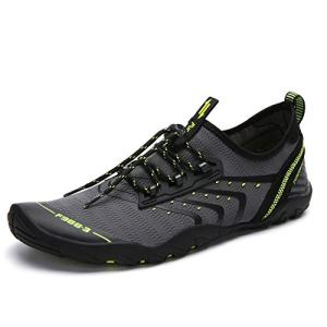 SAGUARO Men's Women's Lightweight Barefoot Aqua Sports Water Shoes
