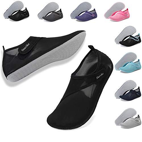 Deevike Water Shoes Womens Mens Aqua Yoga Socks Quick-Dry Barefoot