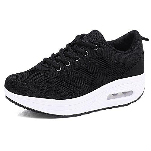 Hishoes Women Comfort Walking Shoes Casual Tennis Lightweight Sneakers