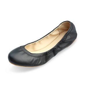 Xielong Women's Chaste Ballet Flat Lambskin Loafers Casual Ladies Shoes
