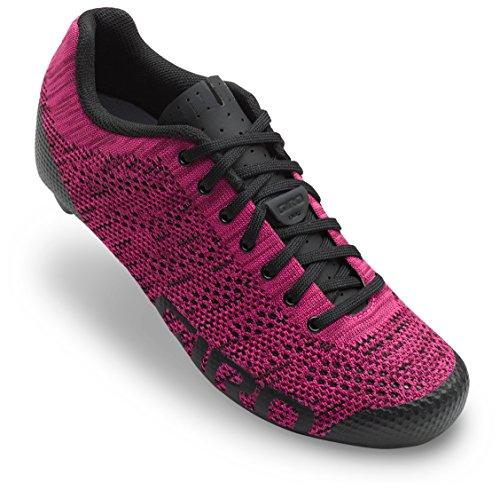 Giro Empire E70 Knit Cycling Shoes - Women's Berry/Bright Pink 38