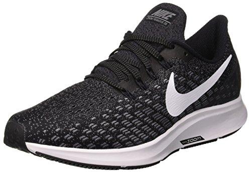 Nike Air Zoom Pegasus 35 Sz 8 Womens Running Black/White